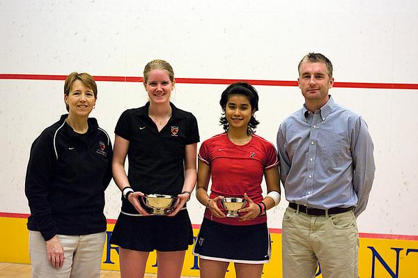 Nabilla Ariffin (Penn), Jack Wyant (Penn), Julie Cerullo (Princeton),  and Gail Ramsay (Princeton)