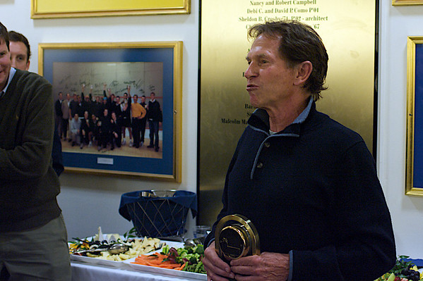 Former Dartmouth Coach John Power