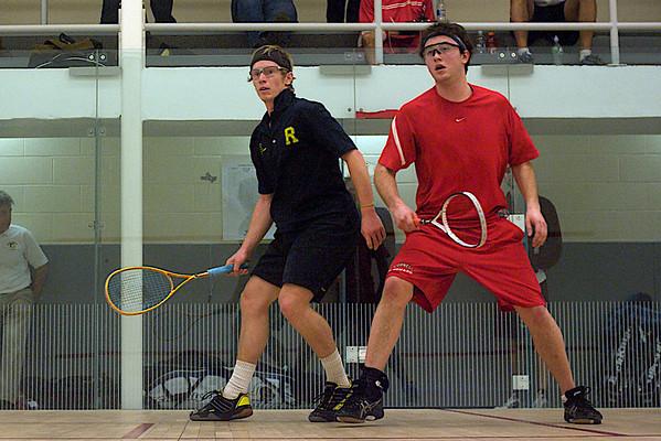 Jim Bristow (Rochester) and Chris Sachvie (Cornell)