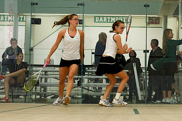 Hannah Conant (Dartmouth) and Monica Wlodarczyk (Bowdoin)