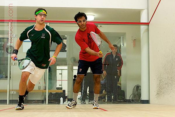 Ted Schroeder (Dartmouth) and Akhilesh Nayak (Penn)