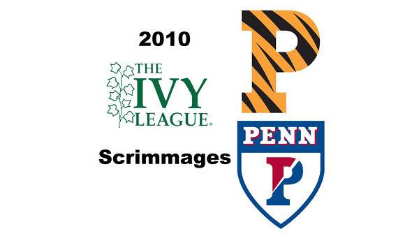 2010 Ivy League Scrimmages: Jackie Moss (Princeton) and Rachael Goh (Penn)