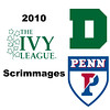 2010 Ivy League Scrimmages: Christopher Jung (Dartmouth) and James Clark (Penn)