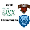 2010 Ivy League Scrimmages: Brad Thompson (Brown) and Graham Miao (Columbia)