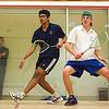 Nat Cooper (Colby) and Sadiq Madraswala (F&M)
