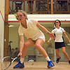 Morgan Smith (F&M) and Hayley Milbourn (Amherst)