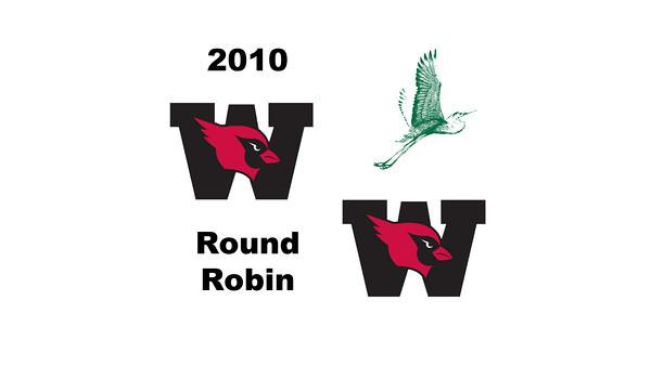 2010 Wesleyan Round Robin: Kar-Anne Tan (Wesleyan) and Courtney Leous (William Smith)