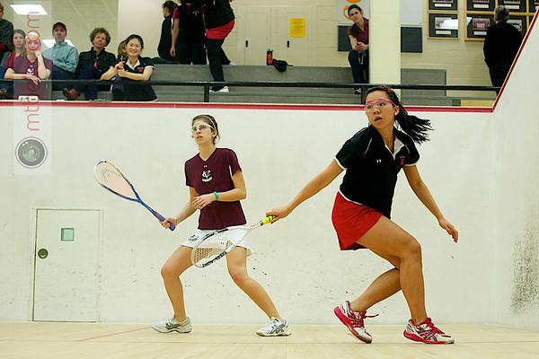 Avery Siciliano (Vassar) and Jenny Chu (Wesleyan)