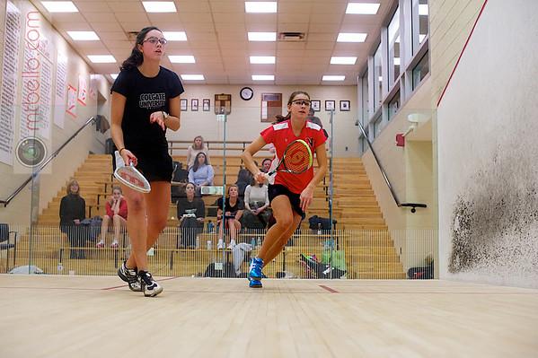 Sophie Voorhees (Colgate) and Amanda Georgescu (Northeastern)