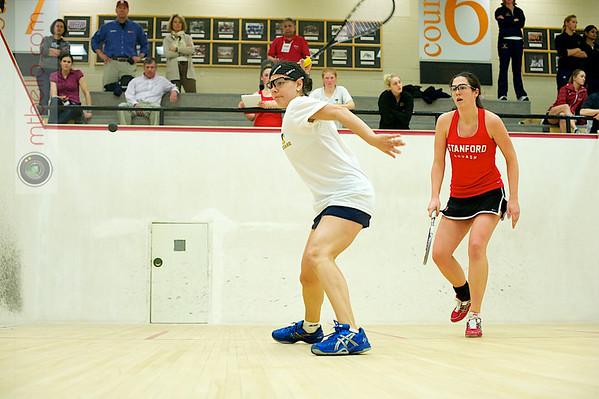 Andrea Echeverria (Trinity) and Kathryn Corelli (Stanford)