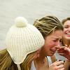 Rhetta Nadas crying in celbration