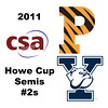 2011 Howe Cup  - Semis - #2s: Millie Tomlinson (Yale) and Jackie Moss(Princeton)