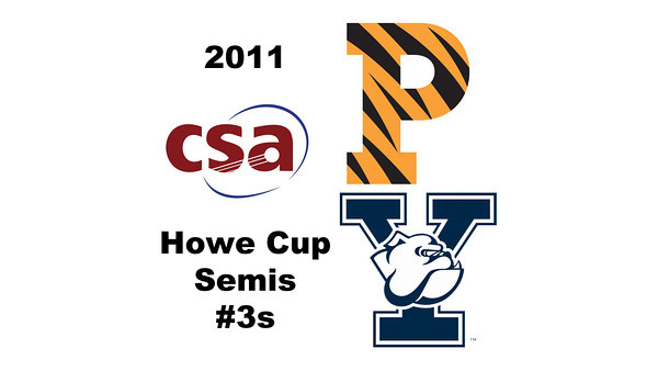 2011 Howe Cup  - Semis - #3s: Elizabeth Eyre (Princeton) and Sarah Toomey (Yale)
