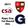 2011 Epps Cup - First Round - #2s: Kiran Gandhi (Georgetown) and Frances Robinson (St. Lawrence)
