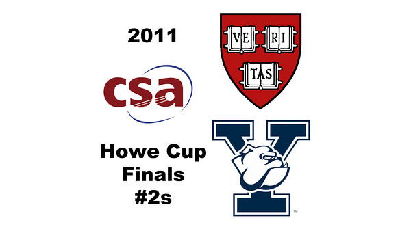 2011 Howe Cup - Finals - #2s: Millie Tomlinson (Yale) and Nirasha Guruge (Harvard)  Part 1