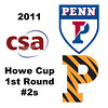 2011 Howe Cup - First Round - #2s: Jackie Moss (Princeton) and Rachael Goh (Penn)