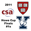 2011 Howe Cup - Finals - #1s: Laura Gemmell (Harvard) and Logan Greer (Yale)<br /> <br /> Game 1