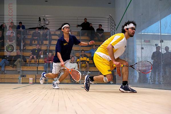 Randy Lim (Trinity) and Andres Vargas (Trinity)