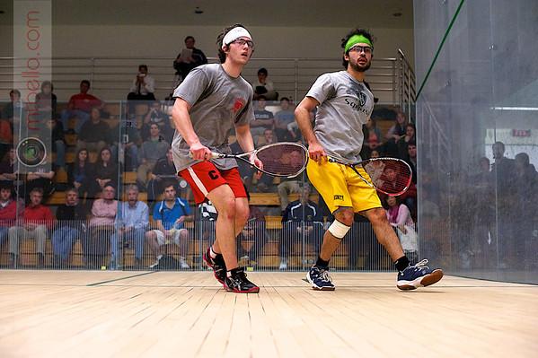Nick Sachvie (Cornell) and Andres Vargas (Trinity)