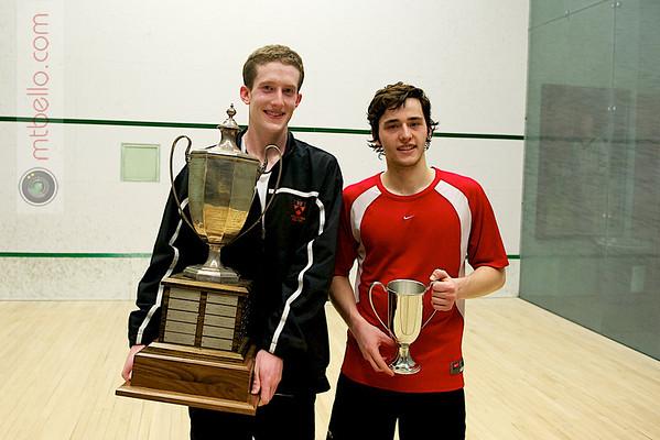 Todd Harrity (Princeton) and Nick Sachvie (Cornell)