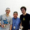 Chris Hanson (Dartmouth), Craig Thorpe-Clark, Hameed Ahmed (Rochester)