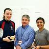 Courtney Jones (Penn), Craig Thorpe-Clark, and Vidushi Gurunada (Mount Holyoke)