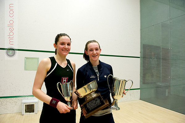 Millie Tomlinson (Yale) and Laura Gemmell (Harvard)