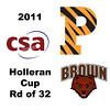 2011 Holleran Cup - Round of 32: Nikki Sequeira (Princeton) and Dori Rahbar (Brown)
