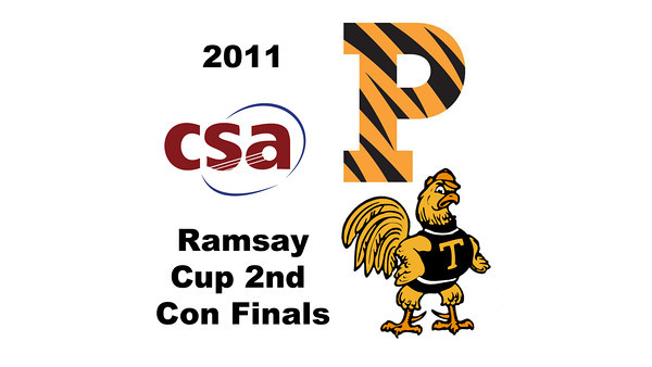 2011 Ramsay Cup - Second Consolation Finals: Pamela Hathway (Trinity) and Jackie Moss (Princeton)  Part 1