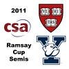 2011 Ramsay Cup - Semis: Millie Tomlinson (Yale) and Nirasha Guruge (Harvard)<br /> <br /> Part 1