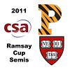 2011 Ramsay Cup - Semis: Laura Gemmell (Harvard) and Julie Cerullo (Princeton)<br /> <br /> Game 1
