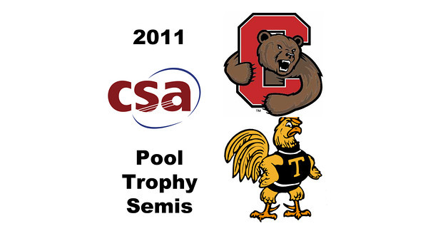 2011 Pool Trophy - Semis: Nicholas Sachvie (Cornell) and Andres Vargas (Trinity)  Game 2