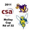 2011 Molloy Cup - Round of 32: Matt Domenick (Rochester) and Will Gruner (Williams)