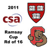 2011 Ramsay Cup - Round of 16: Laura Gemmell (Harvard) and Jaime Laird (Cornell)