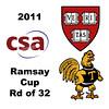 2011 Ramsay Cup - Round of 32: Sarah Mumanachit (Harvard) and Catalina Pelaez (Trinity)<br /> <br /> Games 1 through 4