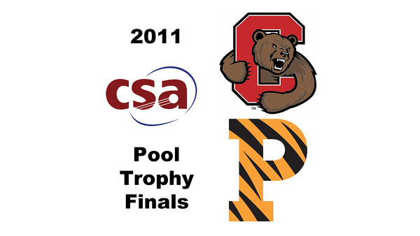 2011 Pool Trophy - Finals: Todd Harrity (Princeton) and Nicholas Sachvie (Cornell)  Game 1