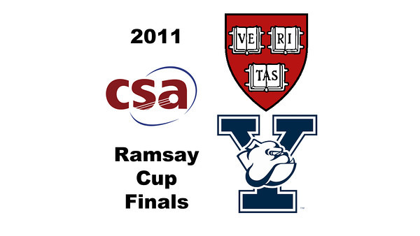 2011 Ramsay Cup - Finals: Millie Tomlinson (Yale) and Laura Gemmell (Harvard)  Game 1