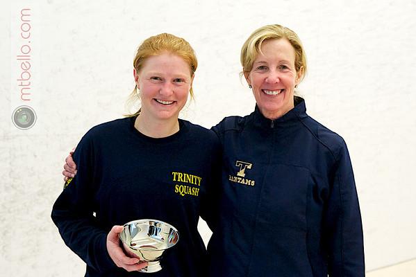 Robyn Williams (Trinity) and Wendy Bartlett (Trinity)