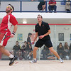 Alex Domenick (Cornell) and Kelly Shannon (Princeton)  - 2011 Ivy League Scrimmages