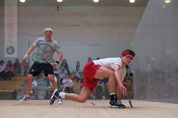 Chris Hanson (Dartmouth) and Thomas Mattsson (Penn)  - 2011 Ivy League Scrimmages