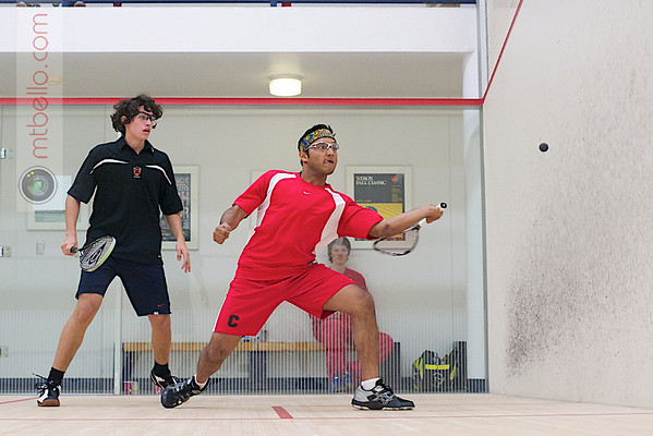 Taylor Tutrone (Princeton) and Rishi Jalan (Cornell)  - 2011 Ivy League Scrimmages