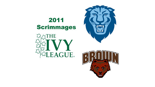 2011 Ivy League Scrimmages (Women): #2s Alisha Maity (Columbia) and Sarah Domenick (Brown)