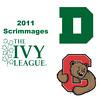 2011 Ivy League Scrimmages (Women): #3s Sarah Loucks (Dartmouth) and Jaime Laird (Cornell)