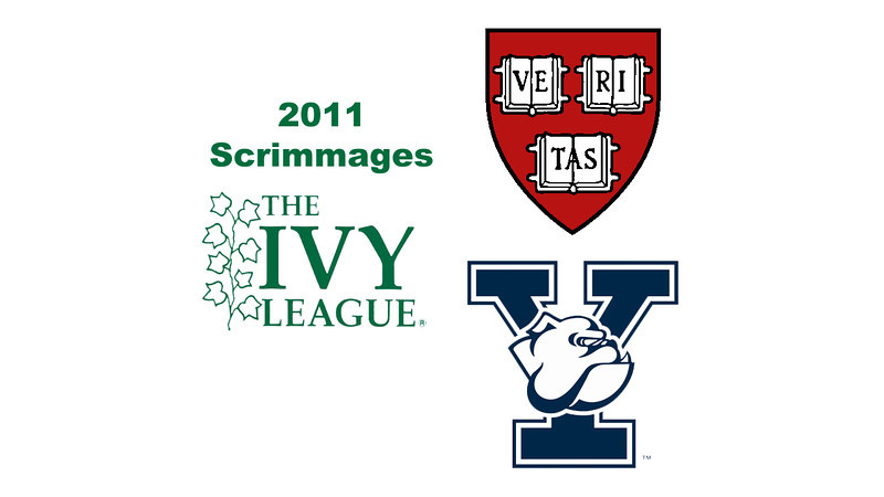 2011 Ivy League Squash Scrimmage Videos
