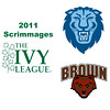 2011 Ivy League Scrimmages (Women): #1s Liz Chu (Columbia) and Dori Rahbar (Brown)