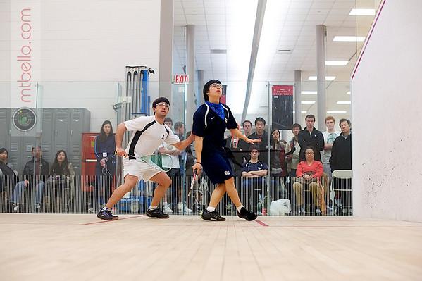 Gabriel Parra (Northwestern) and Jeremy Wong (Conn College)