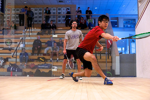 Rafik Bhaloo (Western Ontario) and Alex Hsu (Brown)