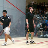 2011 Men's College Squash Association Team Championships: Chris Callis (Princeton) and Kenneth Chan (Yale)