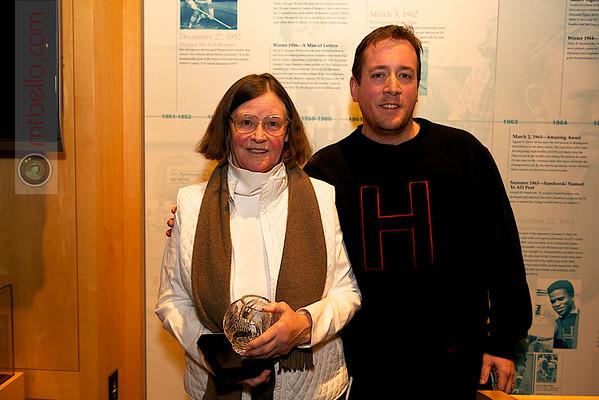 Carol Weymuller (Hobart) and Chris Smith (Harvard)