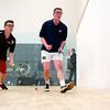 Nathan Tich (St. Lawrence) and Aidan Crofton (Navy)